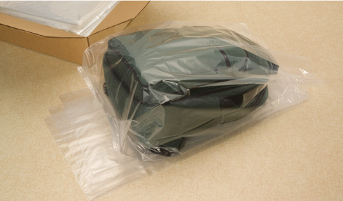 Gusset Poly Bags in Cases