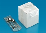 2,000ct LDPE Silverware Bags in Dispenser Box| Prism Pak