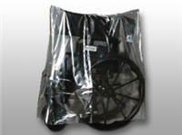 12 X 8 X 26 Low Density Equipment Cover on Roll -- Walker/Wheelchair/Commode 1 mil /RL