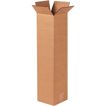 "10 x 10 x 38"" Tall Corrugated Boxes