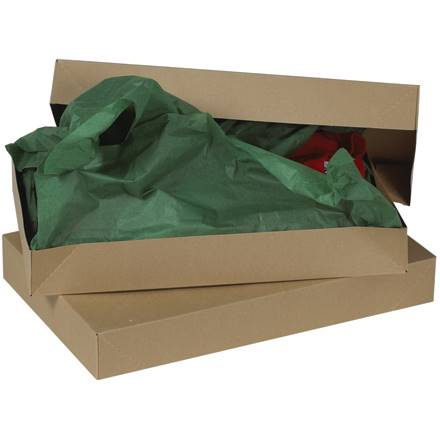 "11 1/2 x 8 1/2 x 1 5/8"" Kraft Apparel Boxes