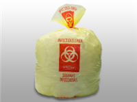 33 gal.Yellow Infectious Linen Liner High Density| Prism Pak
