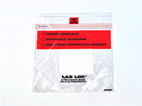 Lab-Loc® Specimen Bags with Removable Biohazard Symbol and Absorbent Pad 12 X 15 1.75 mil 1,000/cs| Prism Pak