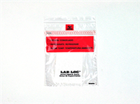 Lab-Loc® Specimen Bags with Removable Biohazard Symbol and Absorbent Pad 6 X 9 1.75 mil 1,000/cs| Prism Pak