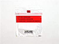 Lab-Loc® Specimen Bags with Removable Biohazard Symbol and Absorbent Pad 8 X 10 1.75 mil 1,000/cs| Prism Pak