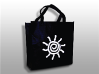 Non-Woven Polypropylene Bag -- Shopping/Grocery  12 1/2 X 8 1/2 X 13 1/2 + 8 1/2 BG100/cs