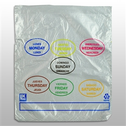 PCAD1085 10X8.5+2 Elkay Plastics All days Portion Control Bags