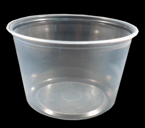 1 Seller Goplas Usa 16 Ounce Clear Polypropylene Deli